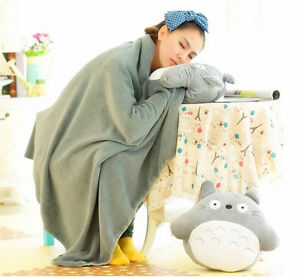Soft-Cushions-Totoro-Plush-Pillows-Hand-Warmer-blankets-hot-Xmas-party-toy-Gifts