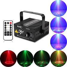 LED éclairage de scène 24 gobos RG Laser Projecteur Disco Party Club DJ lumière