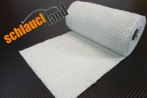 2m cerámica calor banda de protección 200mm blanco 1200 ° c *** heat Wrap turbo asignaturas codos