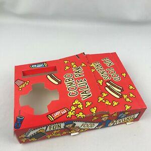 15 New Popcorn Drink Candy Holders Tray Combo Theater Movie Night Kids Child Ebay