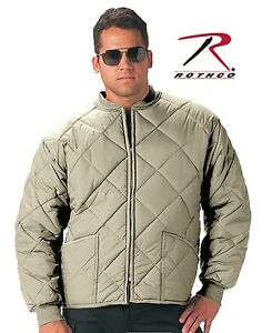 Rothco 7171 Khaki Tan Woodland Camo Diamond Quilted
