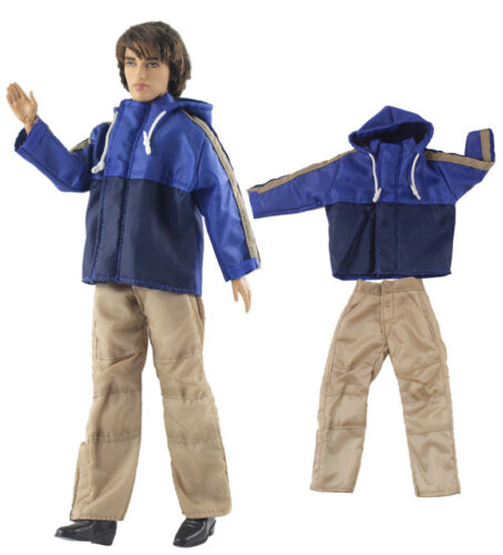 Dll clothing//Outfit//Tops+Pants For 12 inch Ken Doll Clothes B36