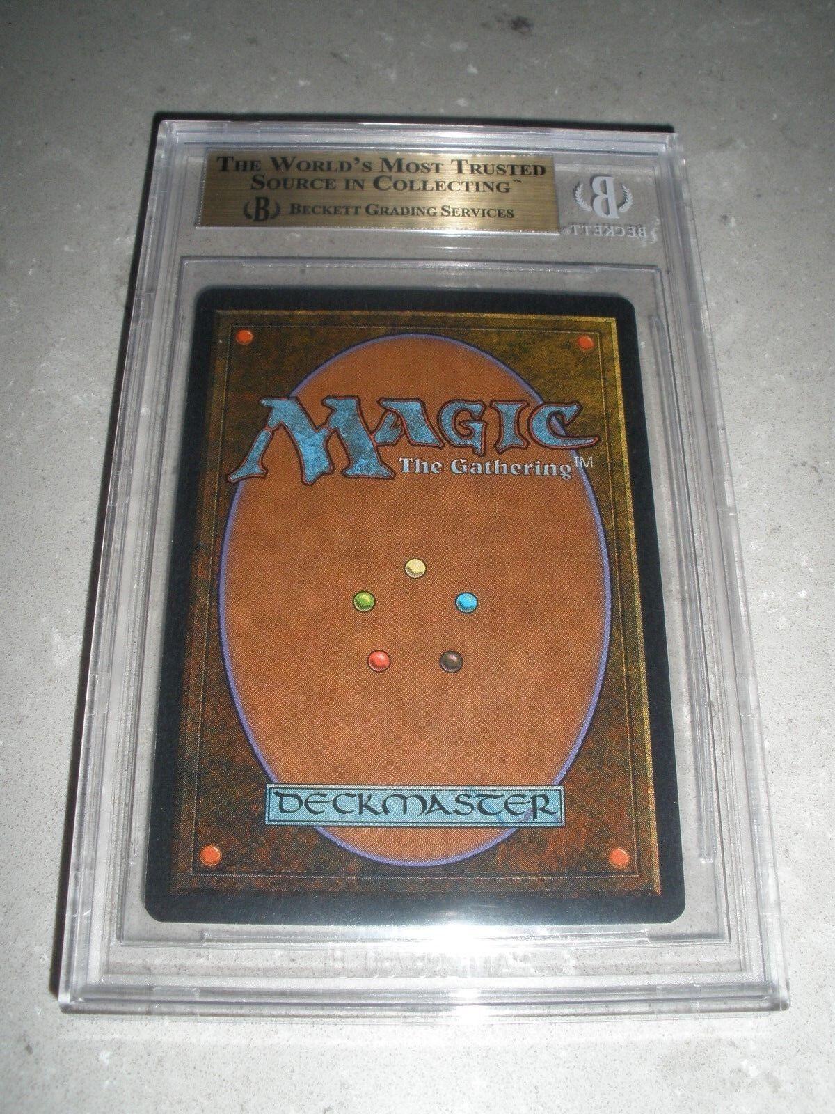 MTG Magic BGS 9.5 9.5 9.5 Time Vault x1 Unlimited (9.5, 9.5, 9, 9.5) Gem Mint de45a4