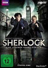 2 DVD-Box ° Sherlock - Staffel 1 ° Eine Legende kehrt zurück ° NEU & OVP