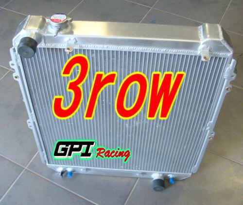 3 Row Aluminum Radiator for TOYOTA Hilux Surf KZN130 1KZ-TE 3.0TD AT//MT 93-96