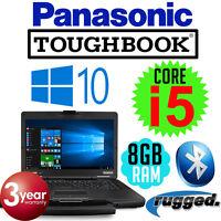 Panasonic Toughbook Cf-54 Mk2 Intel Core I5 Semi Rugged Laptop Cf-54e2888va
