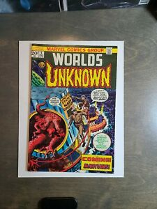Worlds-Unknown-1-VF-The-Coming-of-the-Martians-Marvel-Comics-May-1973