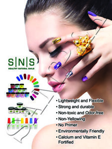 Details about Nail Salon Spa Beauty Art SNS Poster Natural Nails Manicure  Pink White Red
