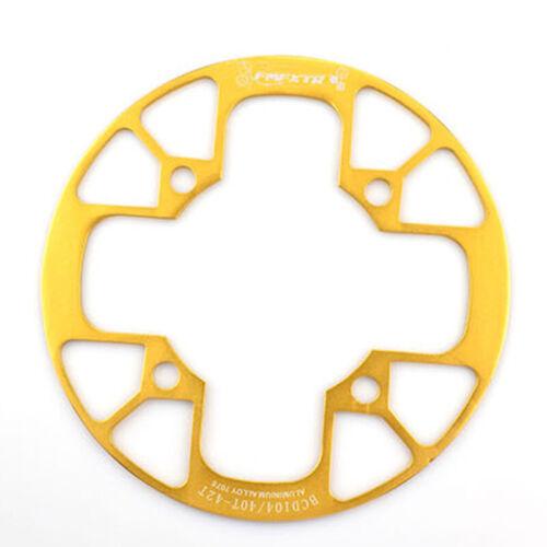 Aluminum Alloy Protector Guard Mountain Bike Chainring Sprocket Crankset