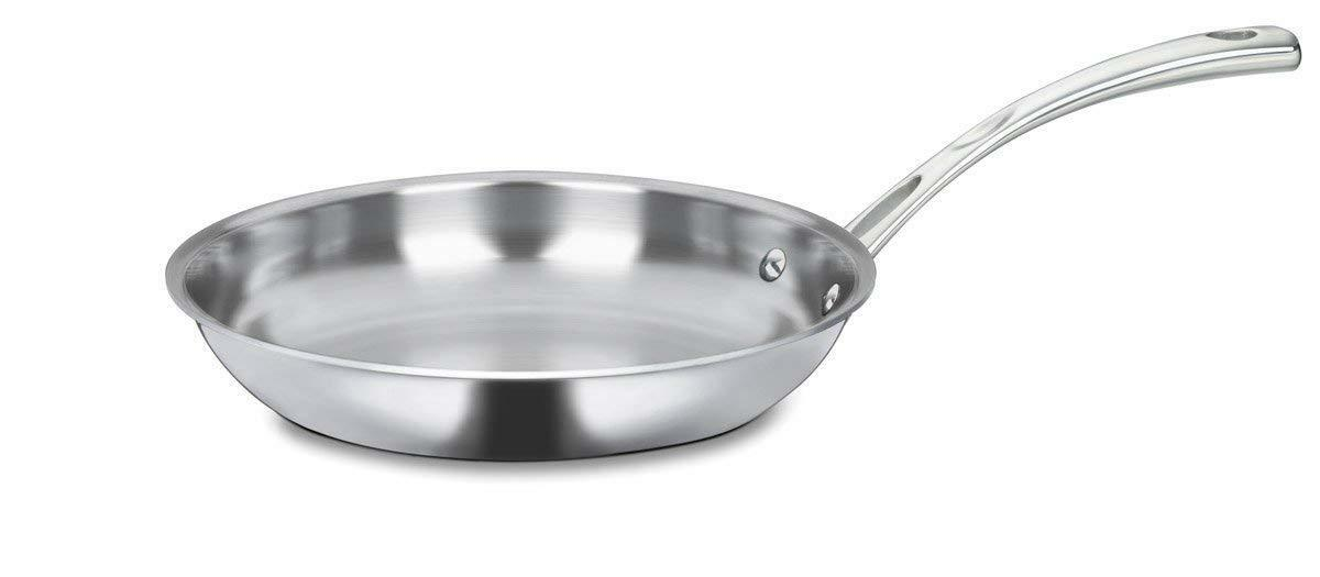 Cuisinart FCT22-24 French Classic Tri-Ply Stainless 10-Inch Fry Pan