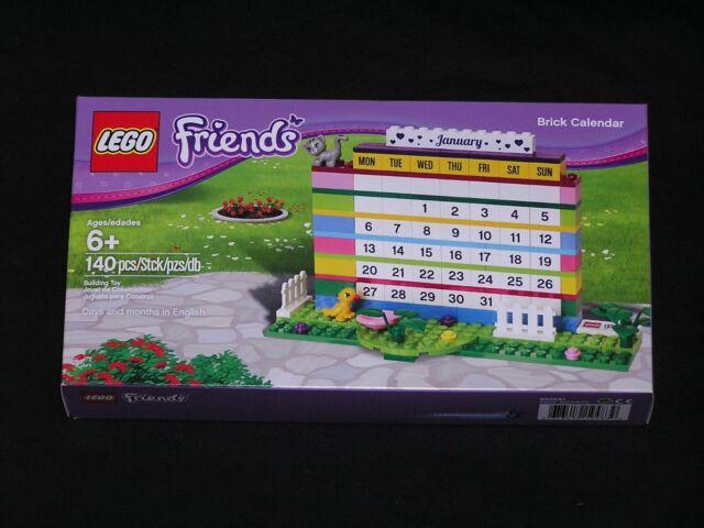 LEGO Friends Perpetual Calendar 850581 Brand New &Sealed