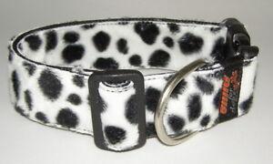 Collier de fourrure dalmate - Emig4dogs - fabriqué en Allemagne depuis 2004