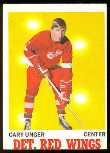 d27e2f01e 1970 71 OPC O PEE CHEE  26 GARY UNGER EX cond DETROIT RED WINGS ...