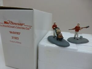 Vintage-McDonald-039-s-McMemories-McDuties-Collectible-Figures-Employees-Men-Working