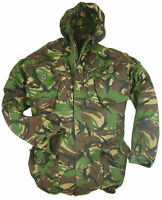 Woodland/Green/DPM Camo WINDPROOF Smock/Jacket - British Army Military