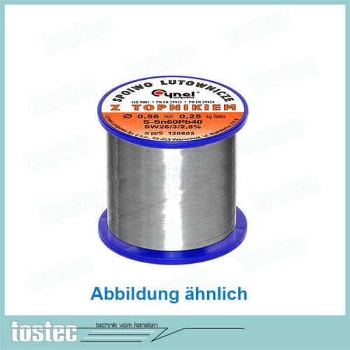 für Weller Lötzinn 250g 0,5mm Sn60 Draht Weichlot no clean z.B