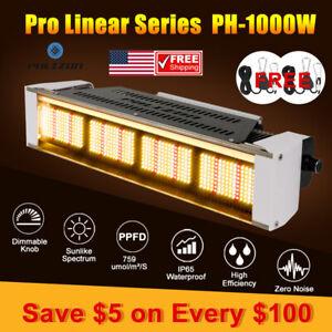 PH-1000 LED Grow Lights Strip Full Spectrum for Indoor Plants Veg Flower HPS HID