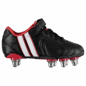 Patrick Kids Power X Childs Rugby Boots Rivets