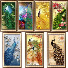 14x18 Poppy Flower and Cat TINMI ARTS-5D Diamond Painting Kits for Adults Full Round Mosaic Cross Stitch Kits Embroidery Kits Home Wall D/écor