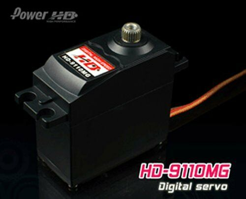 Powerhd hd-9110mg Digital metallo ingranaggi servo 49g 10,5kg 0,19sec 4,8v-6v