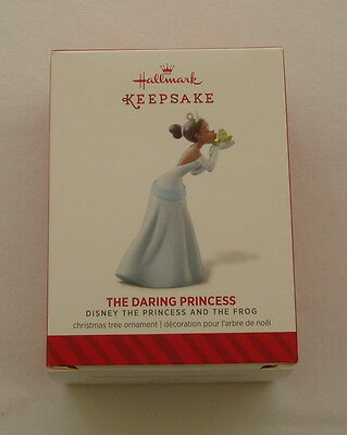 Hallmark 2014 Disney Tiana Daring Princess and the Frog Christmas Ornament