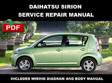 DAIHATSU SIRION 2004 2005 2006 2007 2008 2009 2010 FACTORY SERVICE REPAIR MANUAL