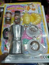 Set prima colazione macchina caffè kit gioco di qualità giocattolo toy
