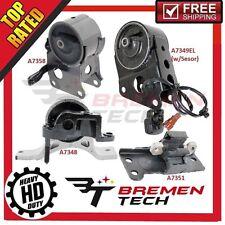04-09 For Nissan Quest 3.5L Engine Motor /& Trans Mount 4PCS For Auto 5Spd M894