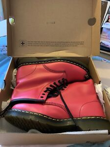 Martens Softy T Taille 43 Pink Neon Bnib Dr 9 1TFclKJ