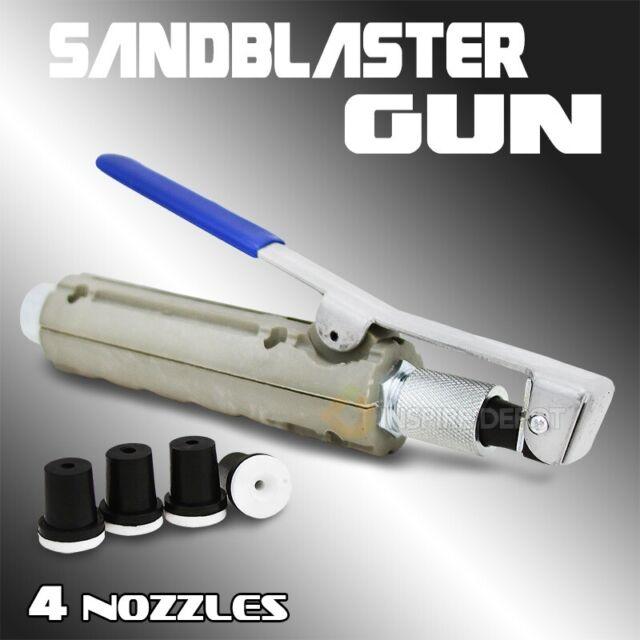 XtremepowerUS 10 Galllon Air Sand Blaster with Ceramic Tips