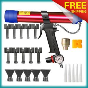 Adjustable-Pneumatic-Glass-Glue-Gun-Air-Rubber-Gun-Tool-310ml-Hard-Glue-Sealant