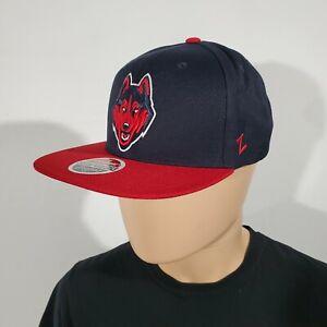 NCAA Zephyr Penn State Nittany Lions mens Z11 Invert Snapback Hat Navy Adjustable