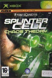 SPLINTER-CELL-CHAOS-THEORY-nuovo-ITALIANO-new-giochi-xbox-live-NUOVO