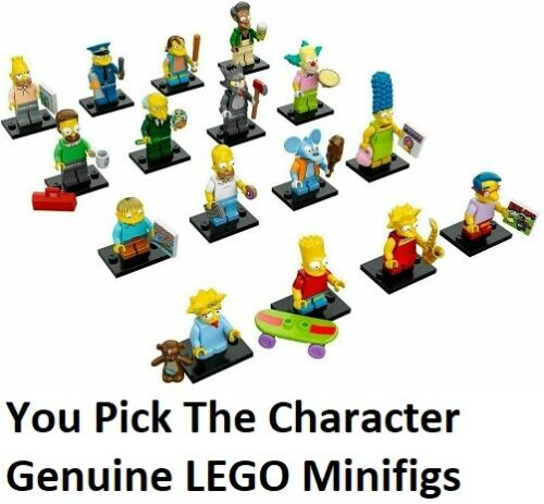 minifigure genuine LEGO CMF SIMPSONS SERIES 1 MINIFIG You Select Character