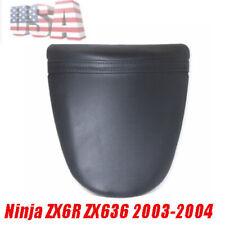 SRC Black Rear Passenger Seat Cushion For Kawasaki Ninja ZX6R ZX636 2005-2006