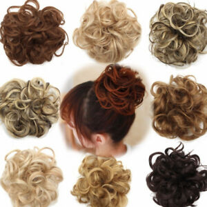 27-Styles-Women-Wave-Wig-Hair-Bun-Beauty-Clip-Comb-Hair-Extension-Hairpiece