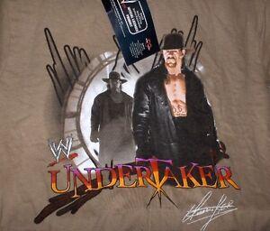 The Undertaker Neu,lizenz,rarität wwe Wrestling-t-shirt,für Alter Ca.14 Jahre