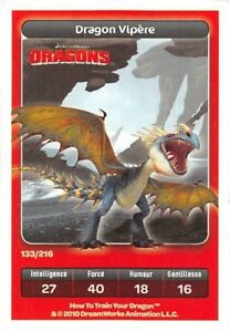 Card-Carrefour-Dreamworks-Dragons-Dragon-Viper-No-133