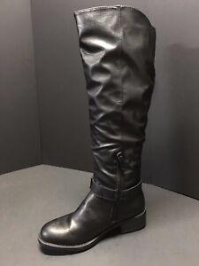Kohls Apirene Black Tall Boots Mid Calf