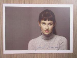 Annett Renneberg original handsignierte Autogrammkarte / T16