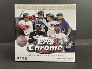 🔥2020 Topps Chrome Update Series- MLB Mega Box Factory Sealed! BASEBALL RC