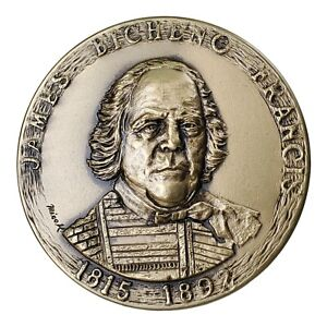 James-Bicheno-Francis-Medal-2001-2007-Restrike-Medallic-Art-Company