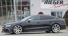 Rieger Seitenschweller für Audi A5 B8 Sportback incl. Facelift/ incl. S-Line/ S5