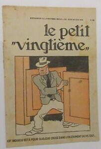 TINTIN-HERGE-LE-PETIT-VINGTIEME-NO-26-1932-BON-ETAT