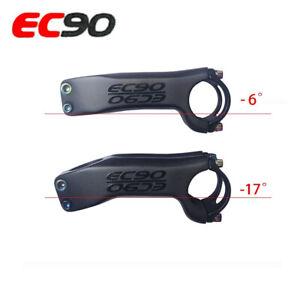 EC90 Carbon Fiber Bicycle Stem MTB Road Bike Stems 31.8// 28.6mm 25.4//28.6mm 17°