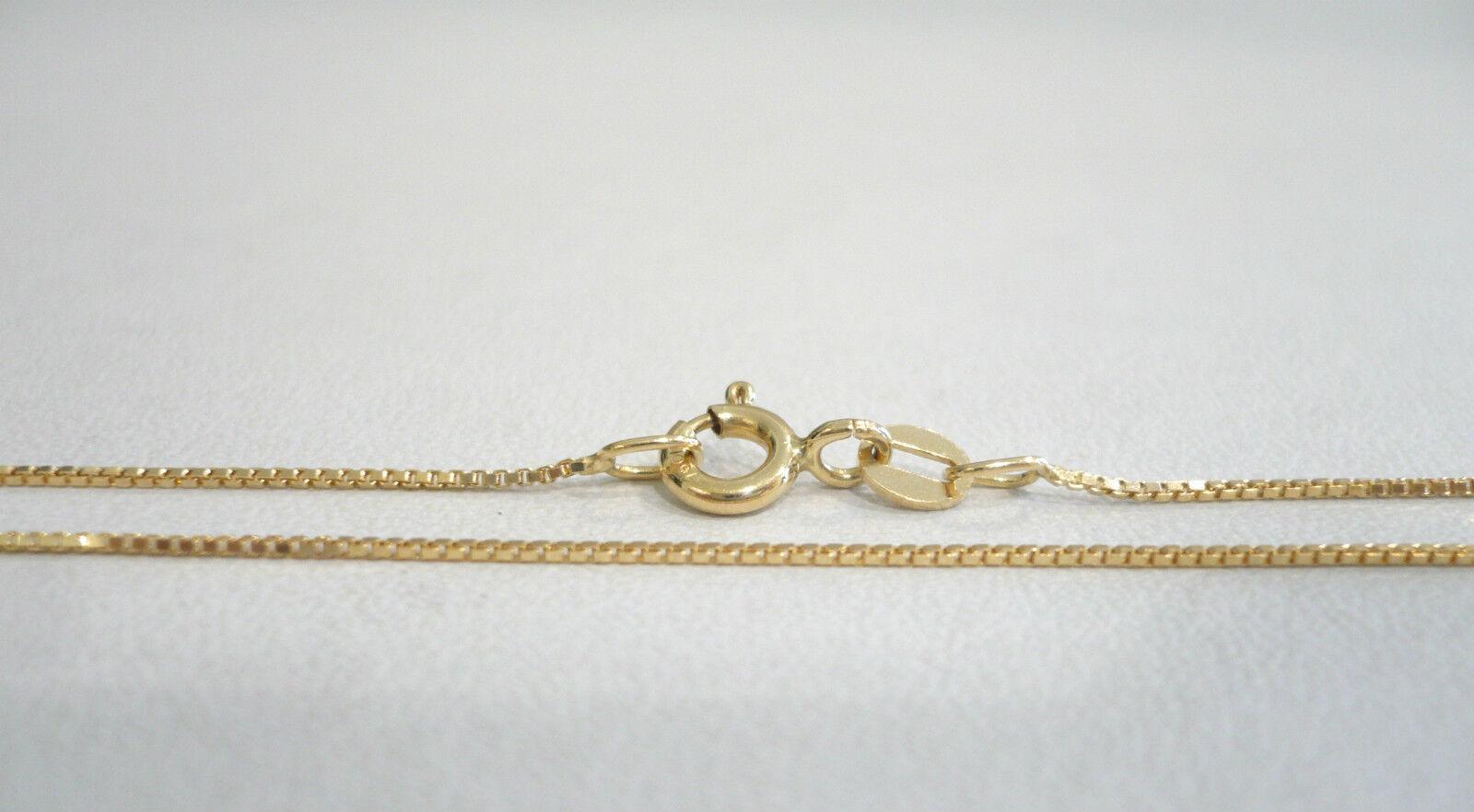 Collar gold yellow 18CT 750 Cadena Veneciano - Gargantilla Cadena Veneciana