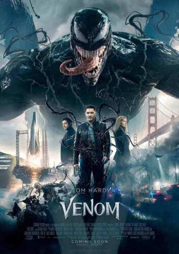Venom Movie Art Silk Poster decor 24x36/' custom room decor 12x18 hot gift 27x40
