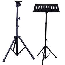 Adjustable Conductor Sheet Musician's Gear Heavy-Duty Folding Music Stand Black