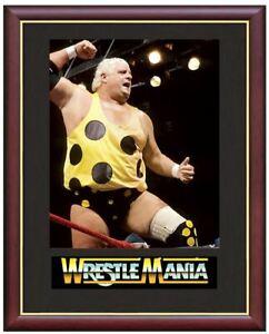Dusty-Rhodes-Wrestling-Legend-Mounted-amp-Framed-amp-Glazed-Memorabilia-Gift
