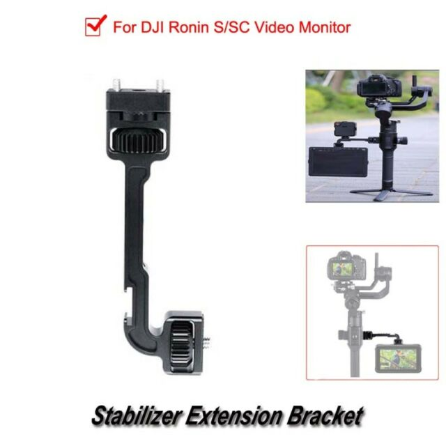 Portable Stabilizer Extension Metal Bracket Suit for DJI Ronin S Video Monitor